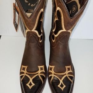 Ariat Shoes - Ariat Women's Nova Sassy Brown Lizard Print Boot